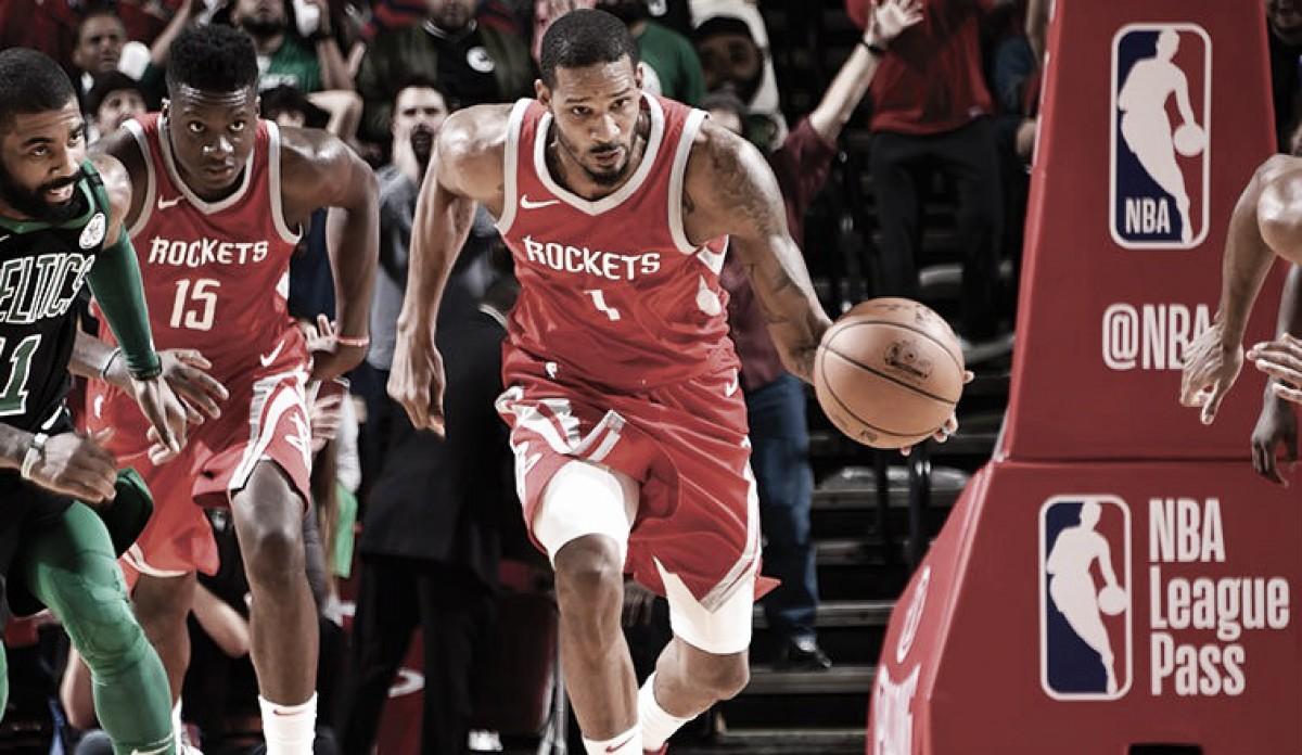 Com final eletrizante, Rockets batem Celtics e mantêm série incrível de vitórias
