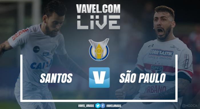 Santos vence o São Paulo pelo Campeonato Brasileiro (3-2)