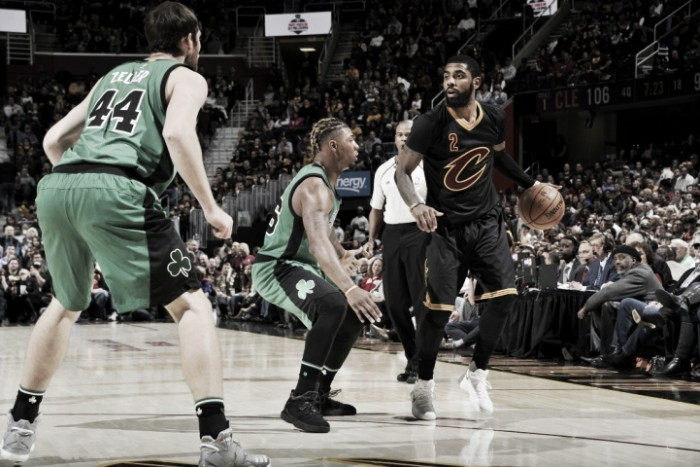 NBA, Cleveland trema ma supera i Celtics (124-118)