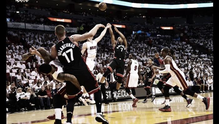 Nba playoffs, Lowry trascina i Raptors in gara 3 a Miami (91-95)
