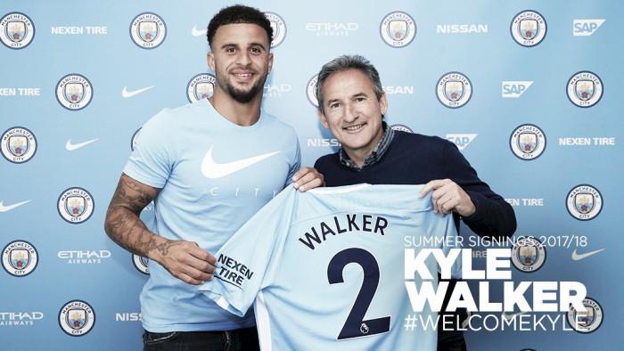 Manchester City paga 50 milhões de libras e contrata Kyle Wlaker
