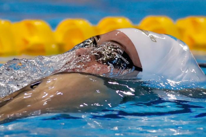 Budapest 2017 - Nuoto, semifinali 100 dorso F: Masse nettamente al comando