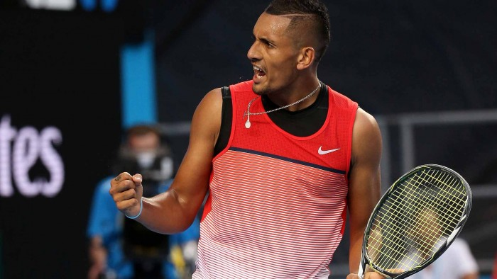 Australian Open: Nick Kyrgios Toughs Out Win Over Pablo Cuevas