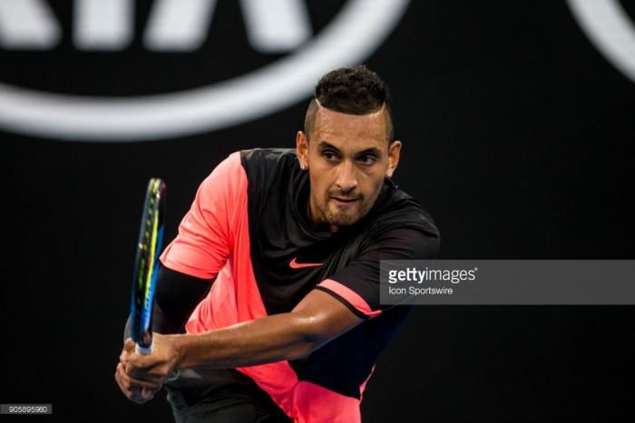 Australian Open 2018: Kyrgios powers past Troicki to set up Tsonga clash