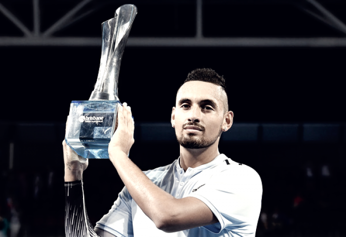 Local hope Nick Kyrgios powers to Brisbane title