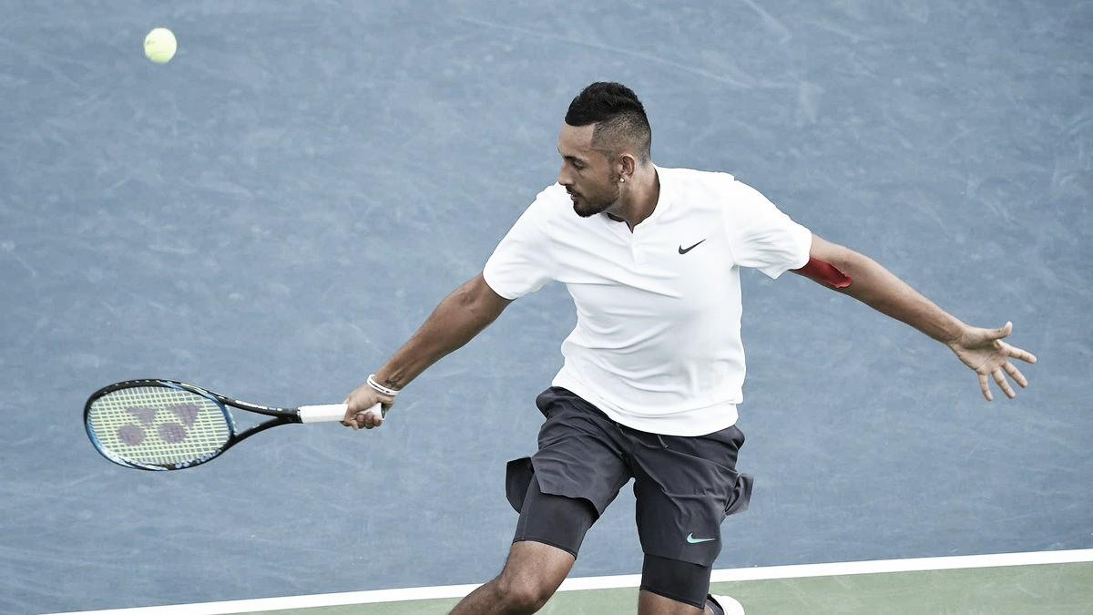 Kyrgios vence Rubin com tranquilidade e estreia com vitória no ATP 250 de Atlanta