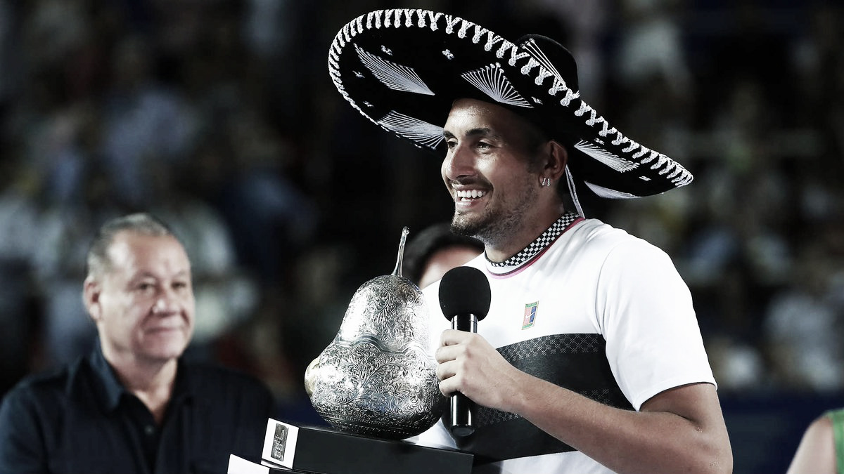 Kyrgios vence Zverev em final intensa e é campeão do ATP 500 de Acapulco
