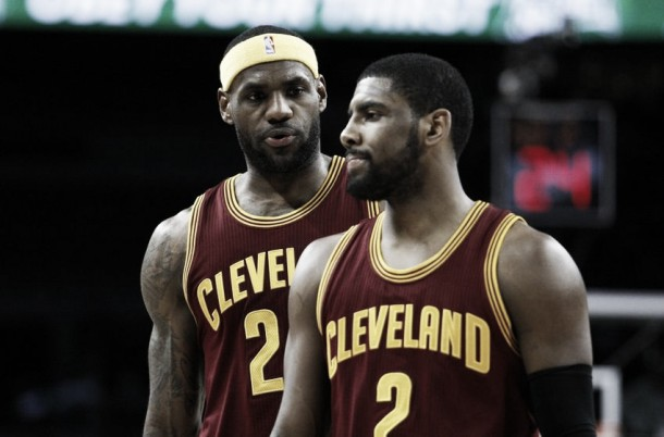 Cleveland Cavaliers, Natale con Kyrie Irving