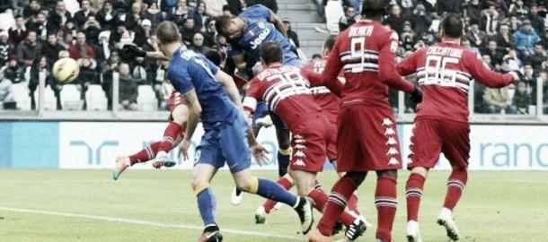La Sampdoria ferma i bianconeri: 1-1 allo Juventus Stadium