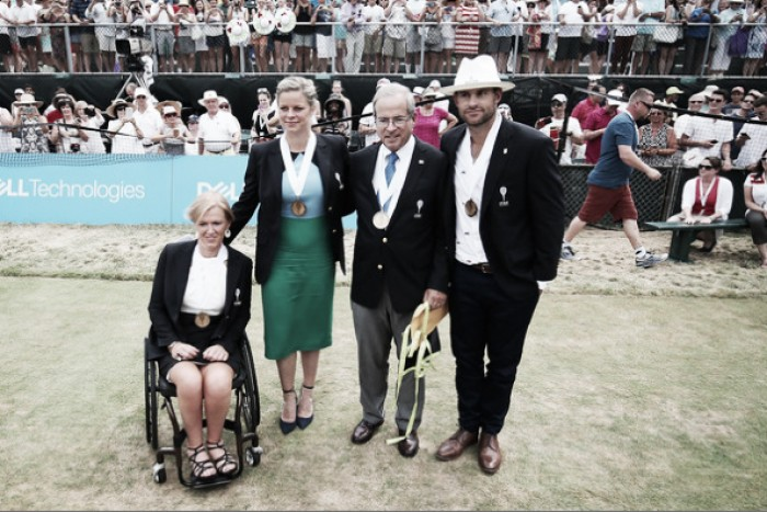 ATP Newport: Andy Roddick Reflects on Career with Uplifting Induction Speech