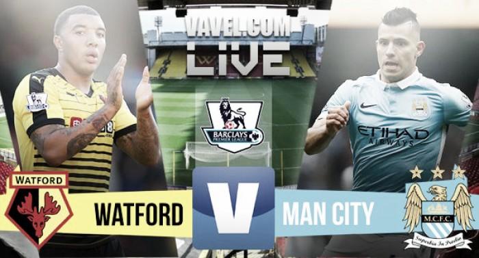 Live Watford - Manchester City in Premier League 2015/2016 (1-2): Yaya Touré e Aguero regalano il successo al City