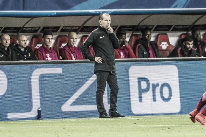 Jardim lamenta empate diante do Leipzig e rechaça comparações com o time da temporada passada