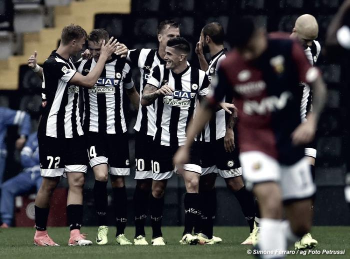 Udinese- Contro il Milan potrebbero esserci meno sorprese del previsto