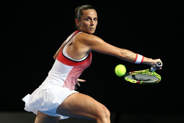 WTA Doha, esordio soft per Roberta Vinci
