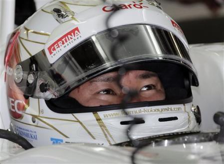 Kobayashi consigue su primer podio en Fórmula 1
