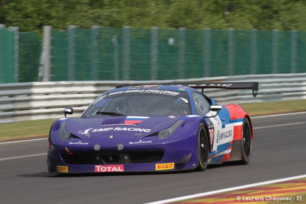 24h de Spa : SMP Racing tire le premier