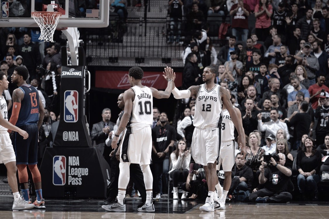Spurs se imponen al Thunder en doble tiempo extra