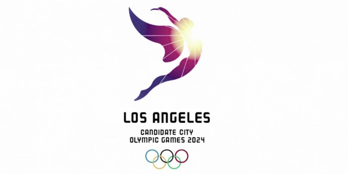 "Olimpiadi 2024, Los Angeles replica a Roma e Parigi: ecco il logo ""Follow The Sun"""