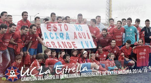 UC La Estrella, campeón del Grupo III de la Regional Preferente de Extremadura