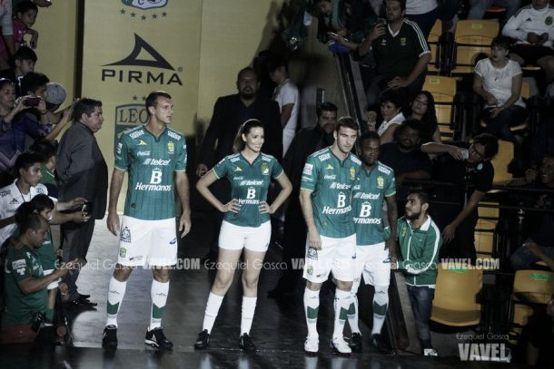 Fotos e imágenes de la presentación del nuevo uniforme del Club León