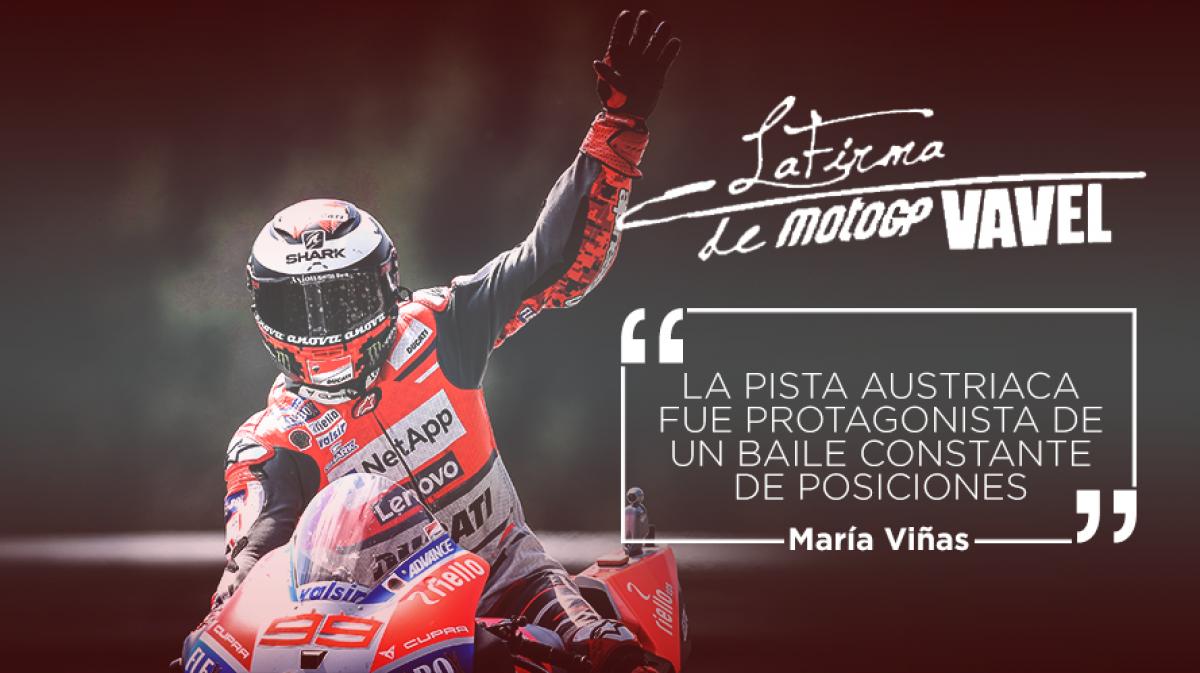 La Firma VAVEL MotoGP del GP de Austria: Lorenzo volvió a sacar su martillo