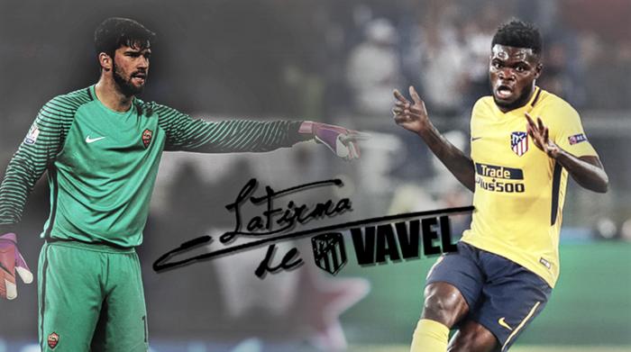 La Firma del AS Roma - Atleti: prosigue la búsqueda del gol que dé la gloria