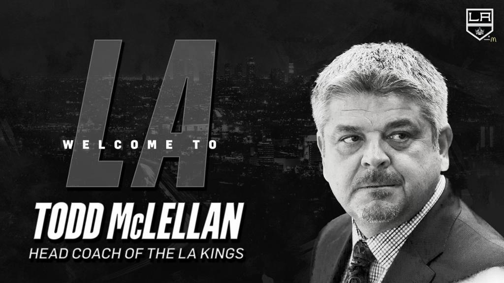 McLellan es el elegido para ser el head coach de los LA Kings