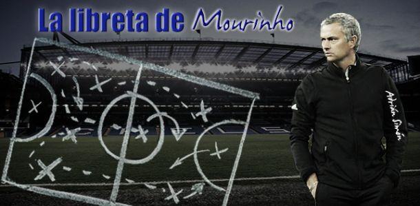 La libreta de Mourinho: eficacia y elegancia