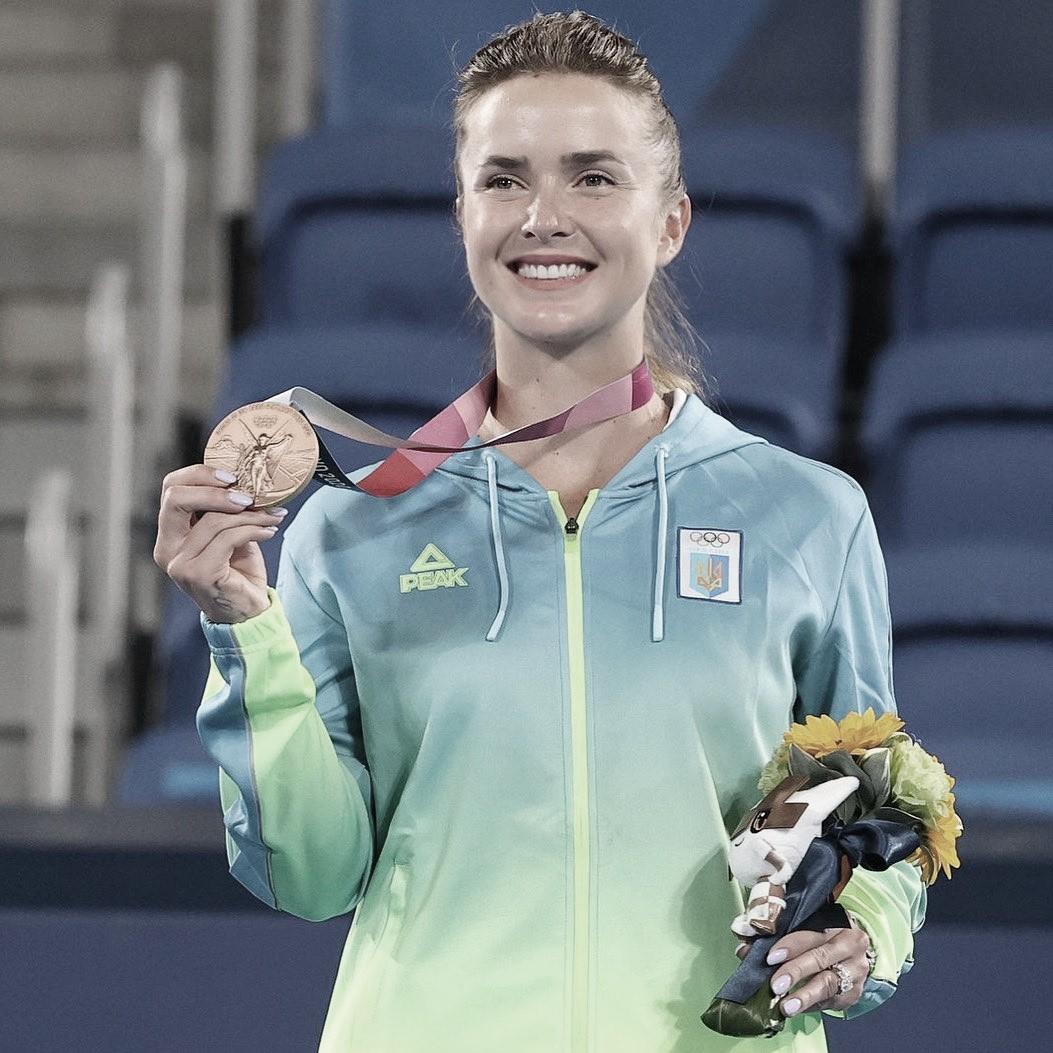 Elina Svitolina se lleva el bronce en Tokio