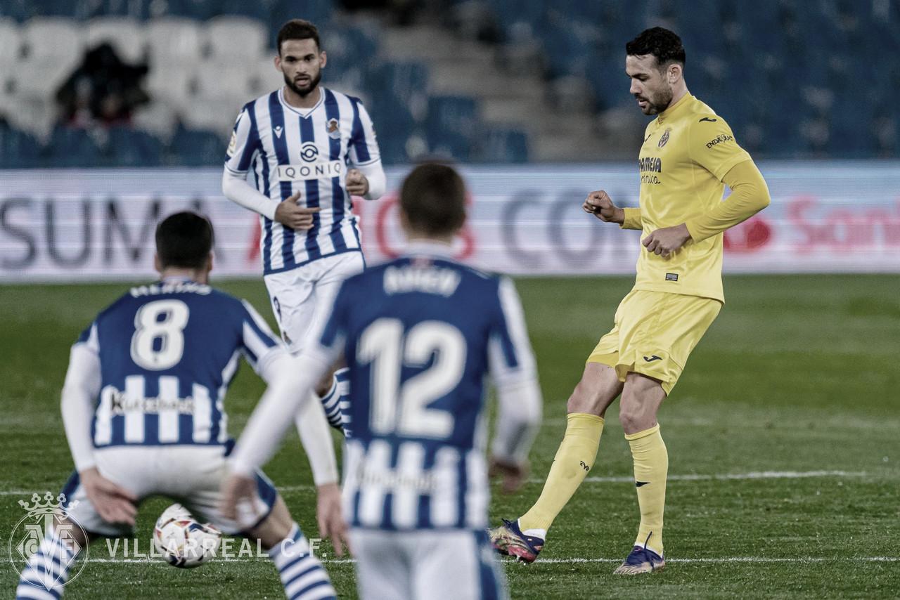 La Real y el Villarreal dan por bueno el empate en el Reale Arena | FUENTE: Villarreal CF