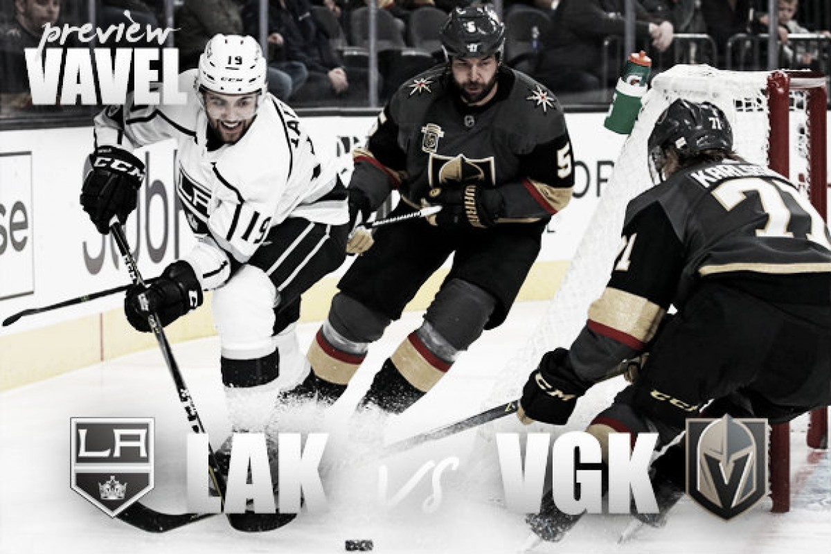 Los Angeles Kings vs Vegas Golden Knights playoff preview