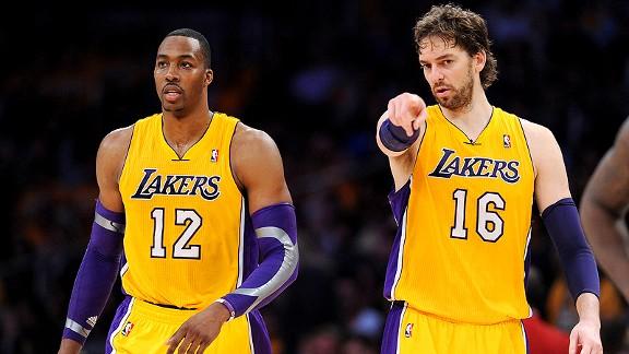 Los Lakers vuelven a  ganar con Gasol