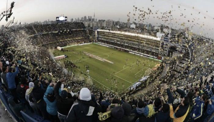 Boca - equipos uruguayos en la 'Bombonera'