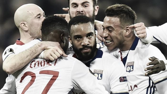 El Olympique de Lyon, liderado por Alexandre Lacazette, buscará una remontada histórica
