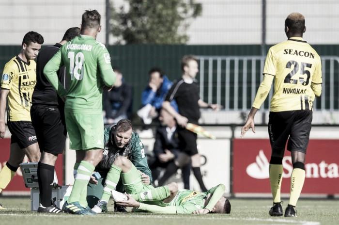 Jovem László Bénes sofre grave lesão e desfalca Borussia M'Gladbach por até três meses