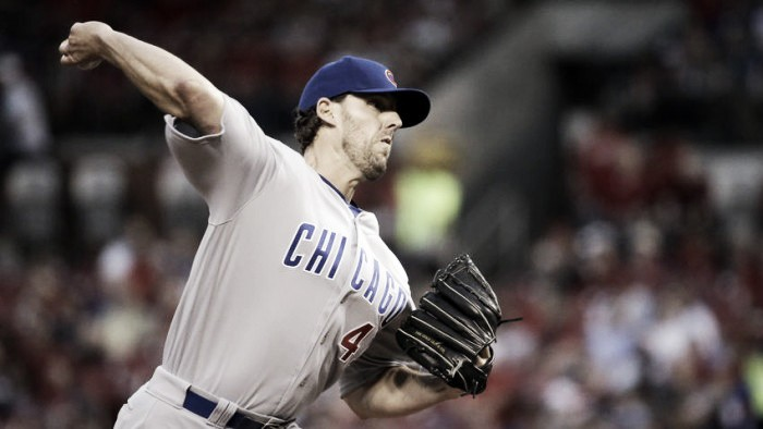 John Lackey Strikes out 11 as Chicago Cubs top St. Louis