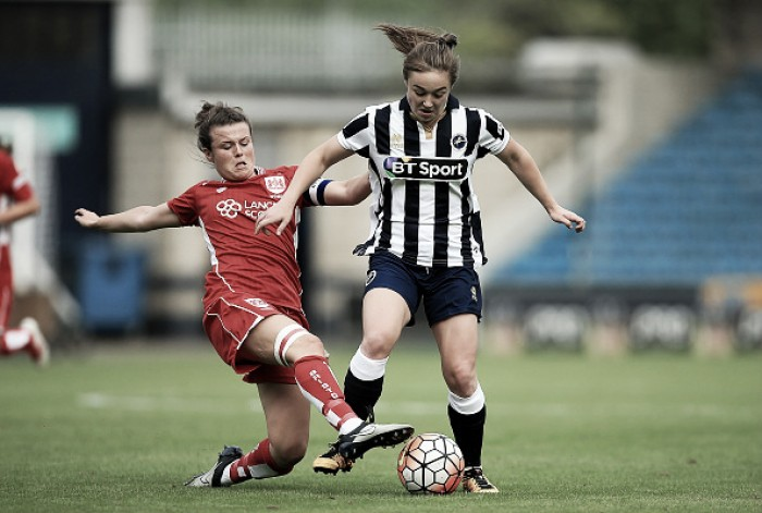 Millwall Lionesses 1-2 Bristol City: Hayley Ladd taking it one game at a time