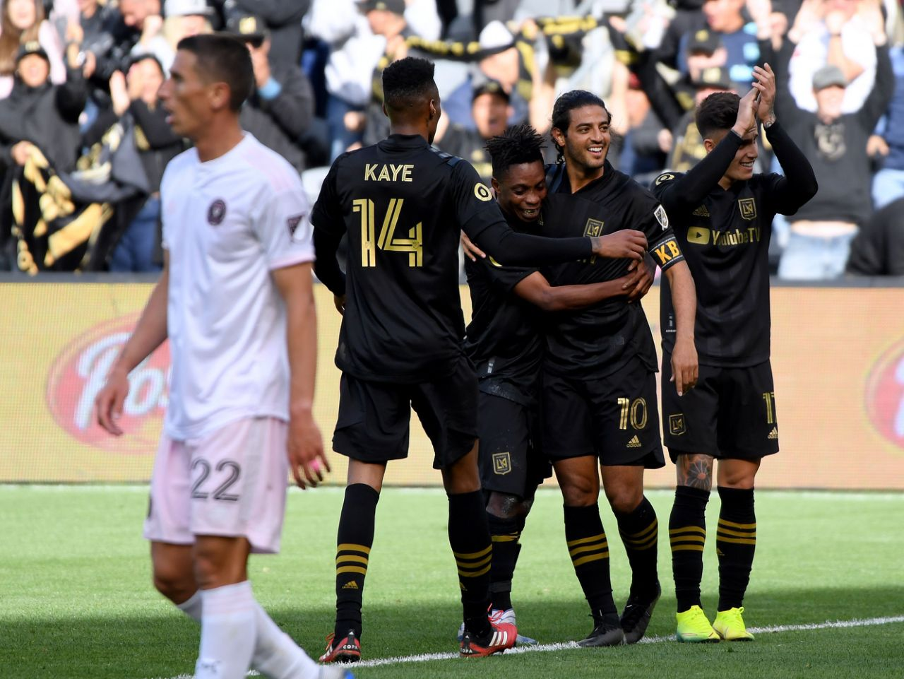 Los Angeles FC 1-0 Inter Miami CF: Carlos Vela's first-half strike earns LAFC opening day victory over MLS debutants