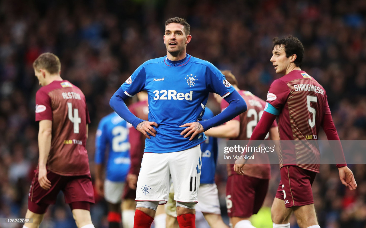 Lafferty leaves Rangers by mutual consent