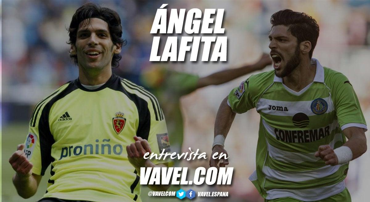 """Entrevista. Ángel Lafita: """"Salir, muy a mi pesar, era una decisión que inevitablemente tenía que tomar"""""""