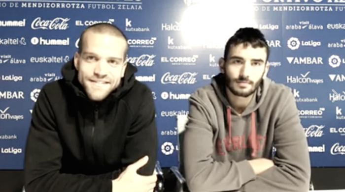 Víctor Laguardia y Einar Galilea: análisis del equipo albiazul