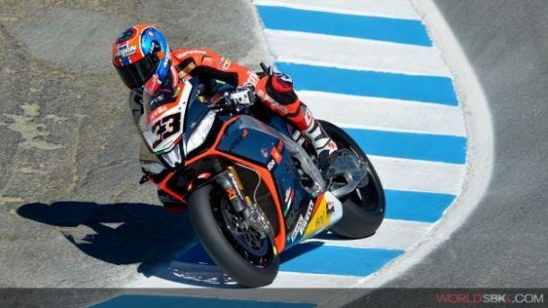 SBK: Melandri domina Gara 1 a Laguna Seca