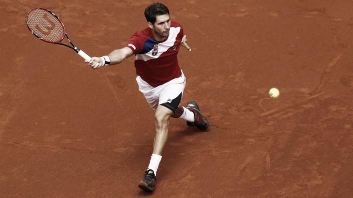 Lajovic levels Davis Cup tie against Britain in Belgrade