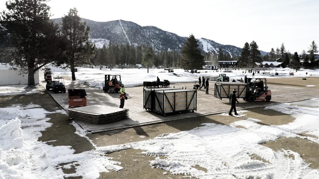 Los partidos en Lake Tahoe podrían ser el comienzo de algo nuevo para la NHL