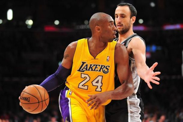 bf85619c0 San Antonio Spurs - Los Angeles Lakers Live Score of 2014 NBA Results