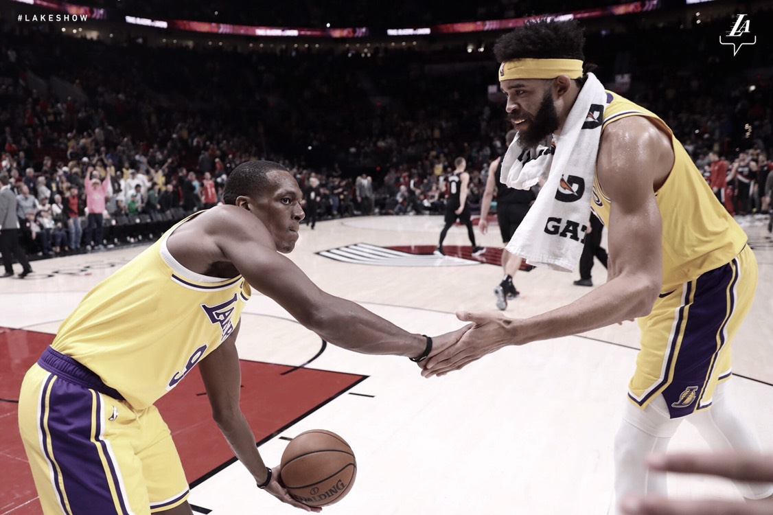 Lakers rompen su sequía ante Trail Blazers