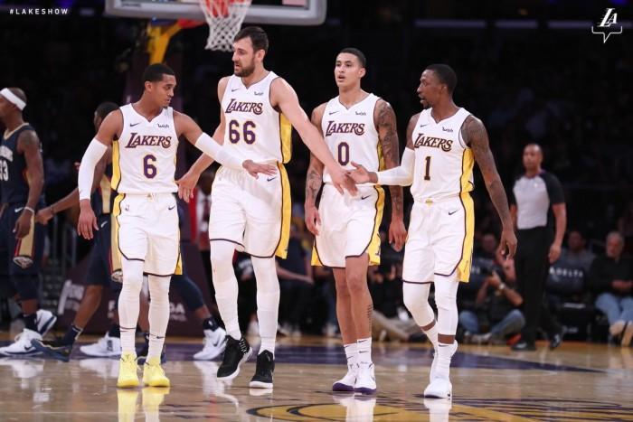 NBA - I primi mali dei Los Angeles Lakers