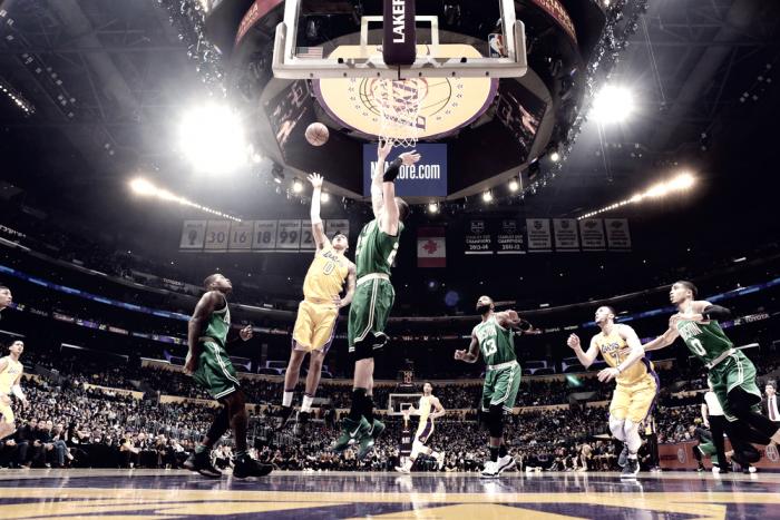 La Kuzmanía lideró la cuarta derrota consecutiva de Celtics