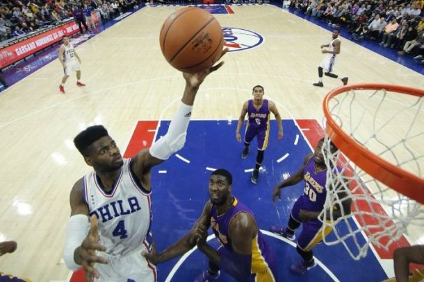 Philadelphia 76ers Snap 18-Game Losing Streak, Spoil Kobe Bryant's Final Homecoming Game