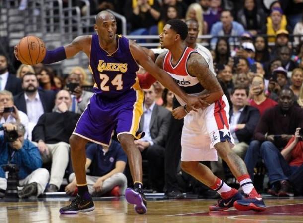 Kobe Bryant's 31 Points Lift Los Angeles Lakers Past Washington Wizards